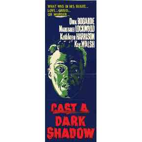 1955 Cast a Dark Shadow DVD Dirk Bogarde Classic - Harpersville - DVD