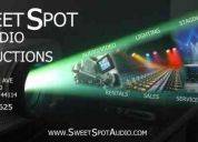 Audio visual services & rentals cleveland 440-342-8625 sweet spot audio productions 44114