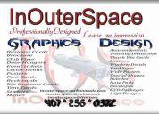 Inouterspace graphics design