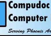 Compudoc computer repair phoenix az / glendale az