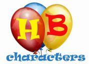 Houston birthday characters