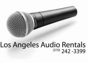 Los angeles audio rentals : : wireless microphone rental (los angeles, hollywood, burbank, west la)