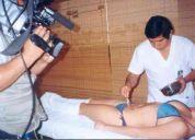 Con drenaje linfatico y masajes reductores reducimos de 1 a 6 tallas