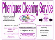 If ya need a house cleaning service why wait for a quote? we have flat rates!!