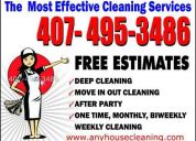 House cleaning for pet owners (407) 495-3486 in orlando & surroundings