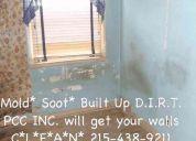 Pcci wall cleaning professionals 215-438-9211 no job too big or tough