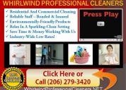 Seattle cleaning service gift card - (206) 279-3420