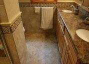Bathroom remodel - tile laminate hardwood flooring free estimates - wesley chapel