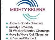 Choosing a cleaning service / maid service / house cleaning