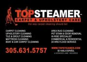 Carpet, upholstery, tile & grout cleaning cutler bay 305-631-5757 top steamer