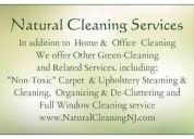 Natural cleaning services residential & commercial