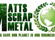 Free scrap metal pick-up