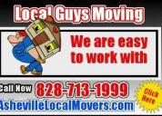 Asheville moving company call 828-713-1999