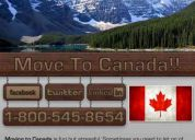 Relocate to canada moving companies 800-545-8654 - gcl