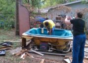 Austin removing and disposing of a hot tub or whirlpool cost $250.00