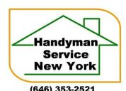 Handyman nyc 646 353 2521 tv a/c ikea installation furniture assembly handyman ny nyc