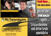 Transmissions & drive trains –just straight shooting - quality– mrtransmission 770-9930044