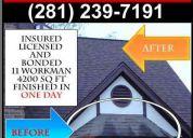 New roof meyerland med-center houston tx (281) 239-7191 bbba+