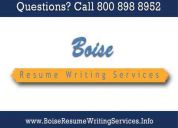 Boise resume writing services