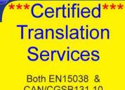translation services at cost-effective rates -all languages!