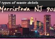 Morristown new jersey waste disposal - it's as simple as you call and we haul