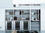 Organizers for closets, kitchens, and garages