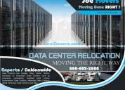 Data center movers - server rack relocation services